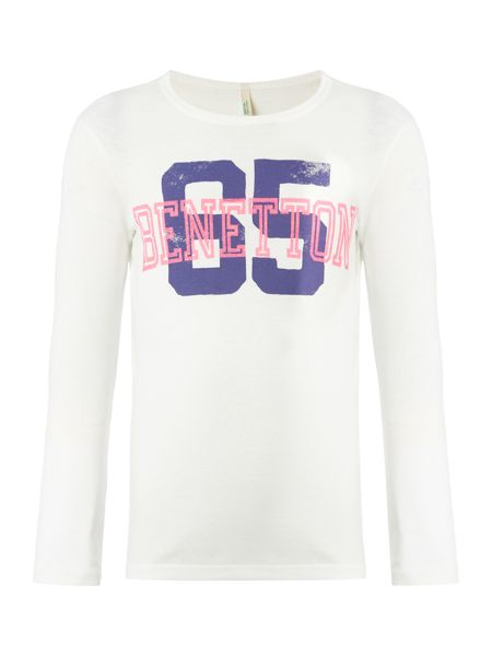 Benetton Girls Long Sleeve 65 Top