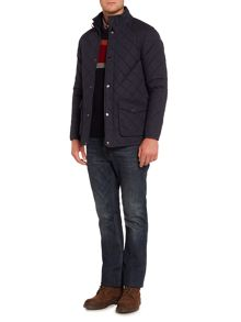 Howick The Pembroke Waxed Cotton Quilted Jacket