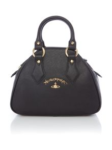 Vivienne Westwood Divina black medium dome bag