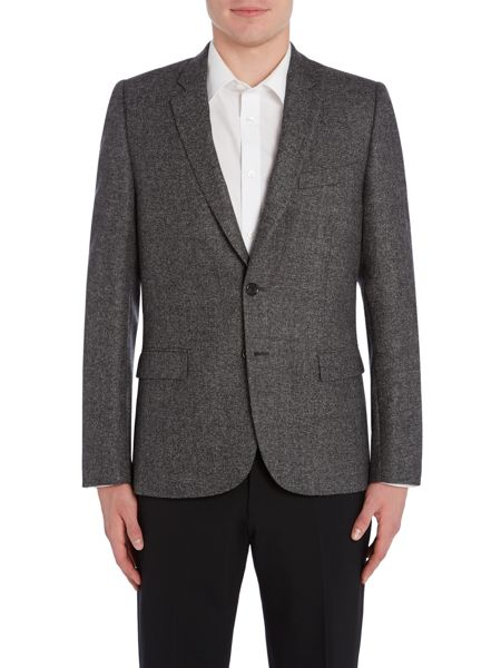 PS By Paul Smith Salt and Pepper Wool Blazer