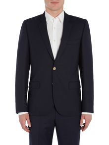 PS By Paul Smith Navy Blazer with Metal Buttons