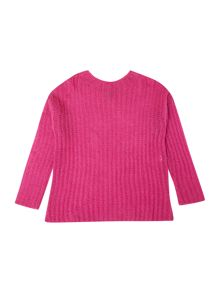 Benetton Girls Fine Knit Jumper