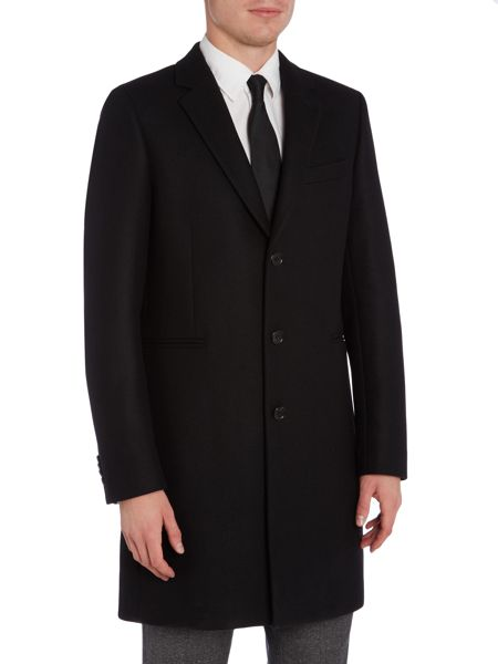 PS By Paul Smith Single Breasted Tailored Coat