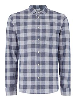 Peak Textured Gingham Shirt