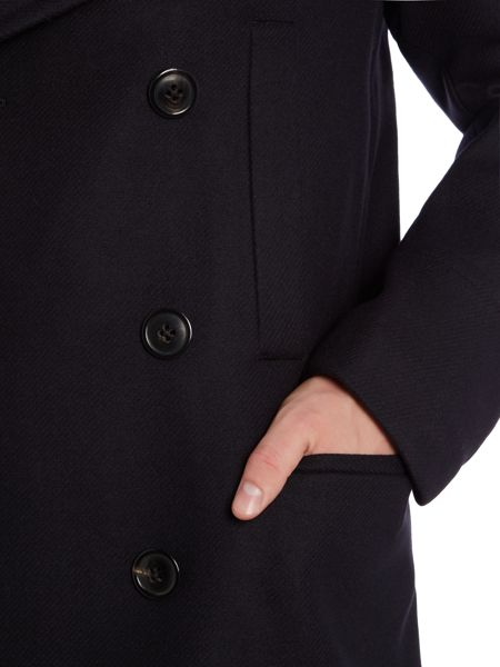 PS By Paul Smith Double Breasted Peacoat