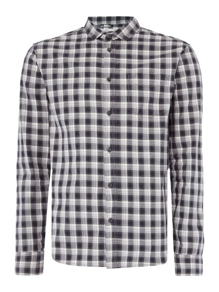 Criminal Frost Marl Check Shirt