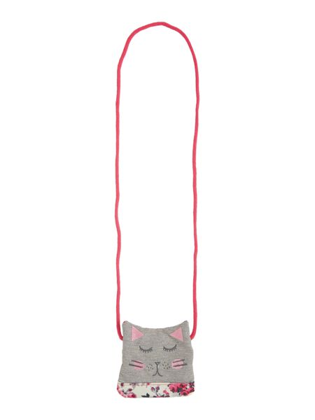 Joules Girls Floral Cat Purse with Cross Body Strap