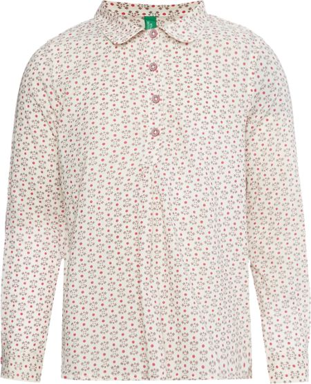 Benetton Girls Round Collar Shirt