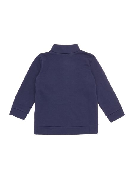 Benetton Girls Heart Pocket Zip Thru Sweat