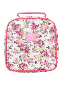 Joules Girl Floral Guinea Pig Lunch Bag