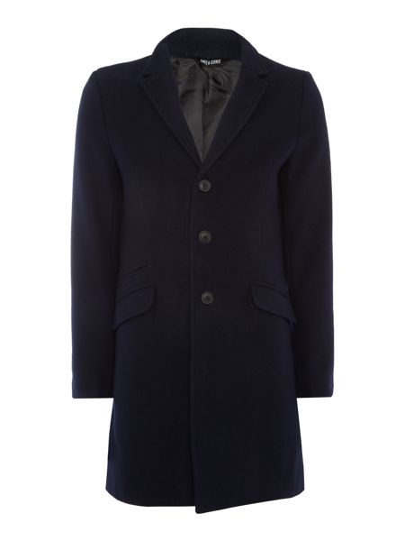 Only & Sons Wool-Blend Coat