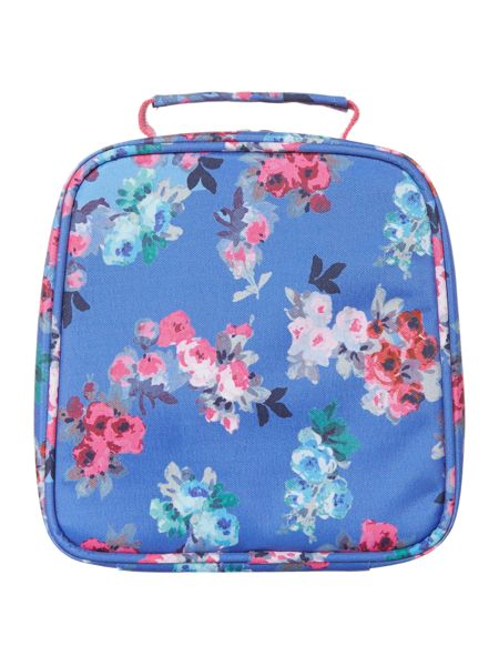 Joules Girl Floral Print Lunch Bag