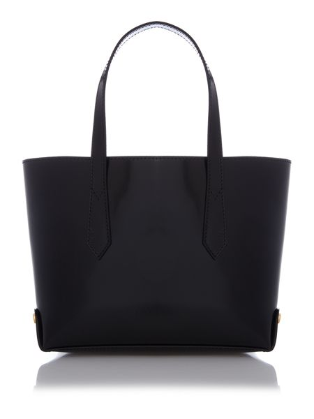 Vivienne Westwood Newcastle black mini tote bag