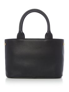 Vivienne Westwood Somerset black small grab tote bag