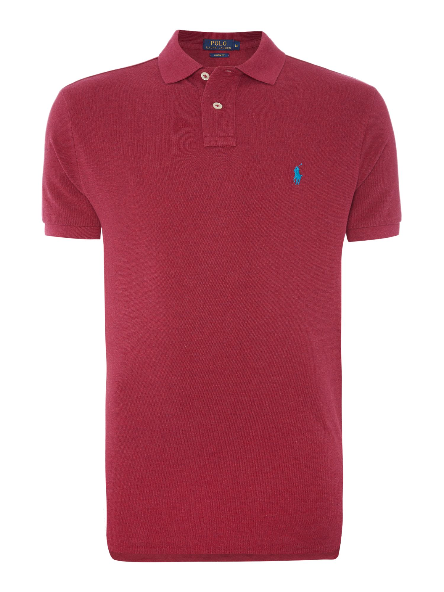 Polo Ralph Lauren Custom-Fit Short-Sleeve Polo Shirt ...