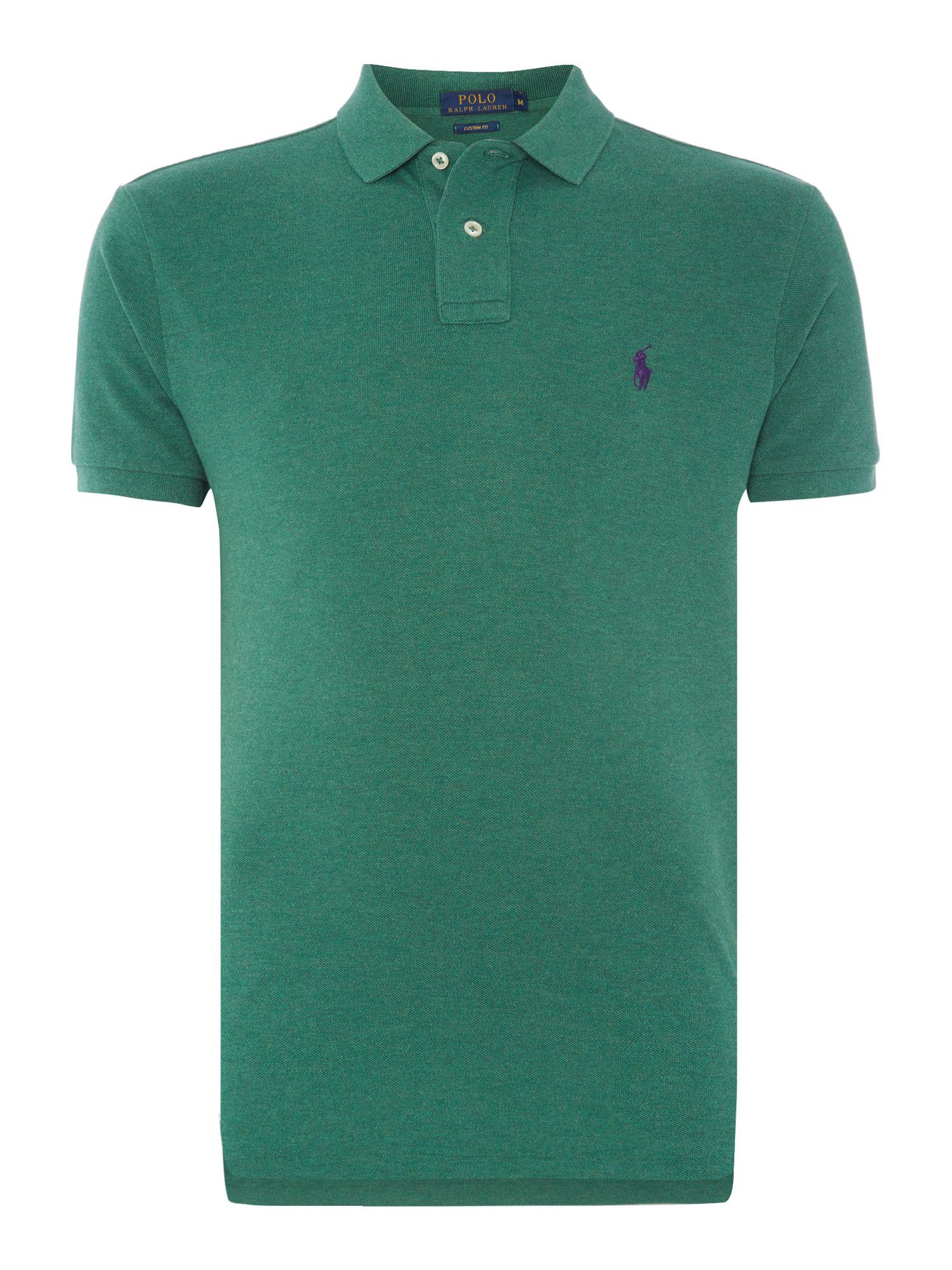 Men\u0026#39;s Polo Ralph Lauren Custom-Fit Short-Sleeve Polo Shirt