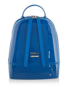 Furla Blue mini backpack