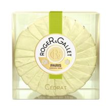 Roger & Gallet Citron Round Soap in Travel Box 100g