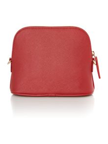Vivienne Westwood Divina red flap over cross body bag