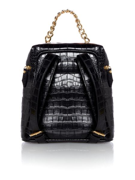 Vivienne Westwood Dorset black backpack bag