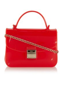 Furla Red  mini crossbody bag