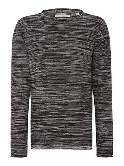 Reverse Marl Knitted Jumper