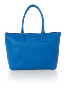 Furla Blue medium ew tote bag