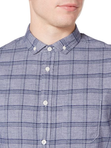 Criminal Jude Twisted Check Shirt