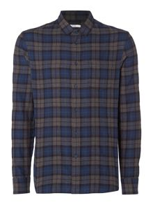 Criminal Rowan Brushed Check Shirt