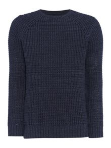 Criminal Trystan Textured Crew Knit