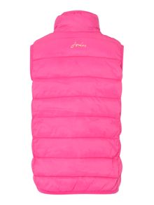 Joules Girls Padded Pack Away Gilet