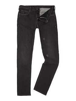 J10 Extra slim dark grey jeans