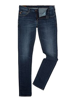 J10 Extra slim fit mid blue jeans