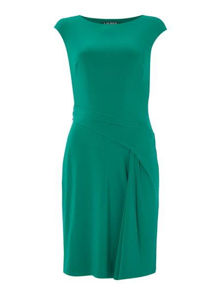 Lauren Ralph Lauren Ros boat neck shift dress