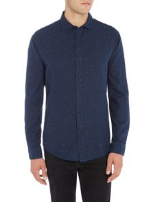 Only & Sons Marl Fleck Long Sleeve Shirt