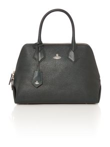 Vivienne Westwood Balmoral green flap over shoulder bag