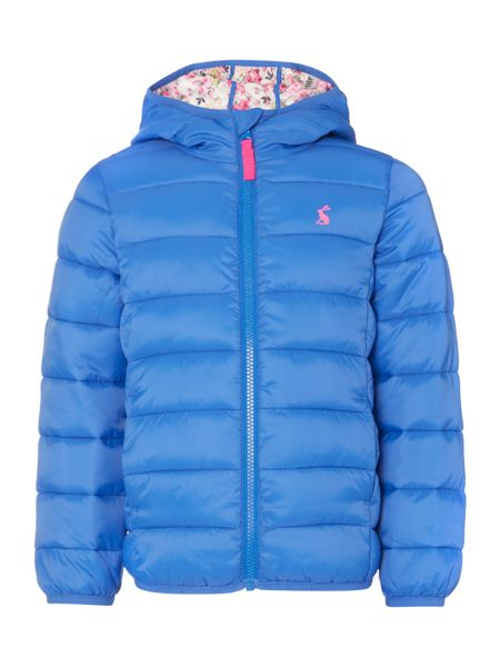 Joules Girls Padded Pack Away Coat
