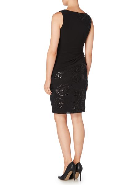 Lauren Ralph Lauren Balaz boat neck sequin dress