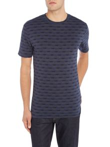 Only & Sons All Over Print Textured T-shirt