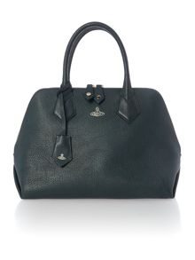 Vivienne Westwood Balmoral green medium dome bag