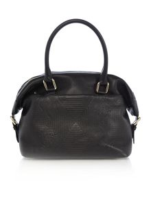Vivienne Westwood Hogarth black medium tote bag