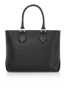 Vivienne Westwood Balmoral black medium tote bag