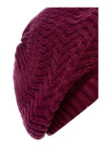 Dickins & Jones Zig Zag Knit Beret