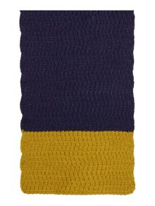 Dickins & Jones Zig Zag Knit Scarf