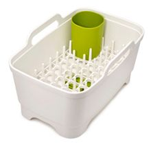 Joseph Joseph Wash&Drain Plus, White/Green