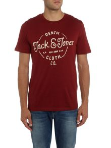 Jack & Jones Originals Logo Traffic Light Crew Neck T-shirt