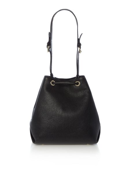Vivienne Westwood Balmoral black bucket bag