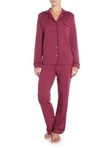 DKNY Long sleeve top and pant pyjama set
