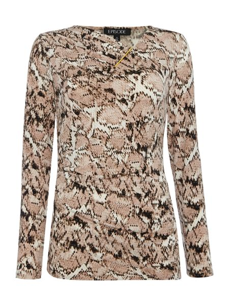 Episode Long sleeved Reptile Print Jersey