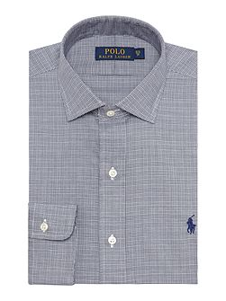 Estate Collar Mini Dogtooth Shirt